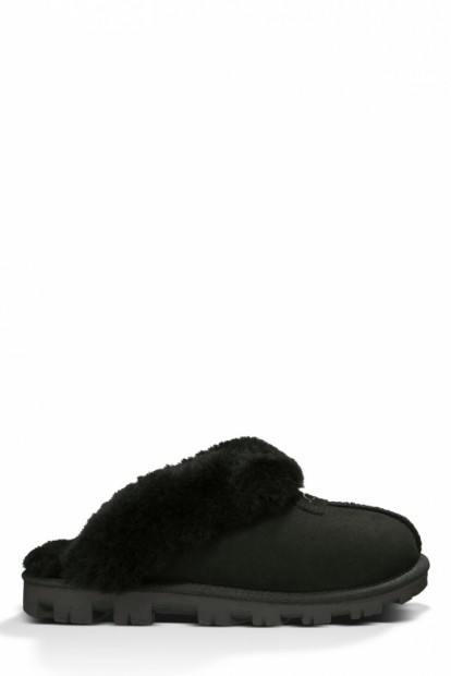 Угги Угги womens coquette slipper black | Фото №1