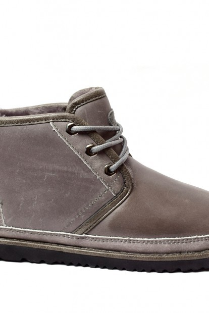 Mens neumel waterproof boot grey | Фото №1
