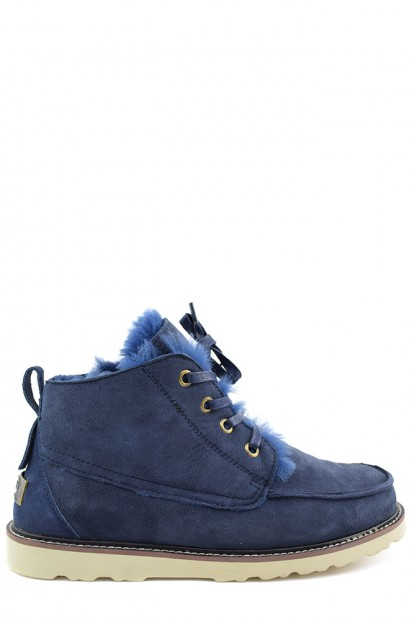 Угги mens beckham navy | Фото №1