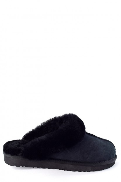 Угги mens slippers scufette black | Фото №1