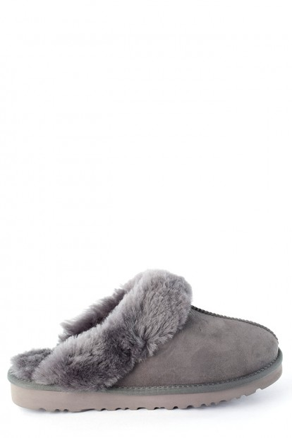 Угги mens slippers scufette grey | Фото №1